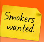 Smokers Wanted